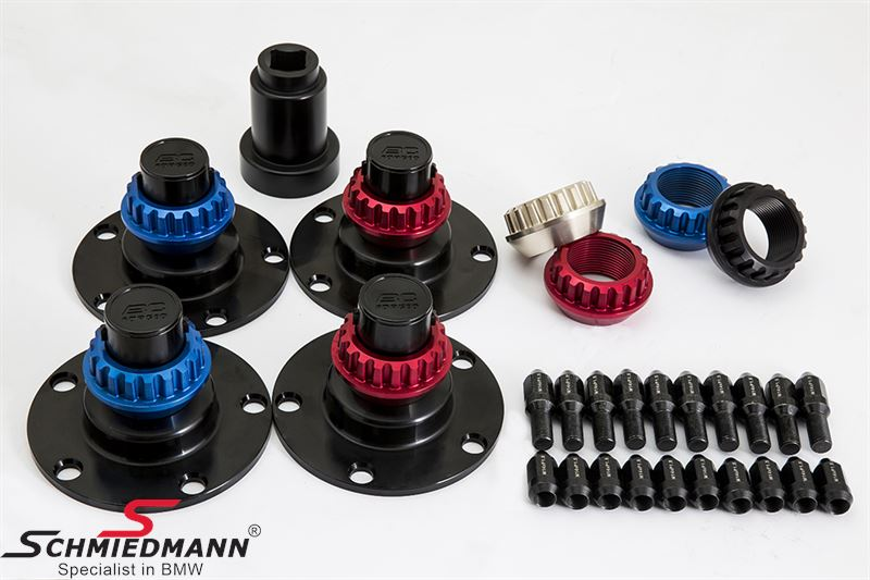 BC Wheels center lock conversion kit (Note: For track use only)