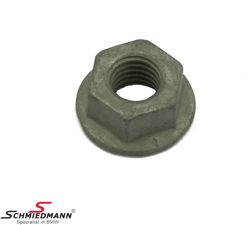 Hex nut with washer M8 for transmission support