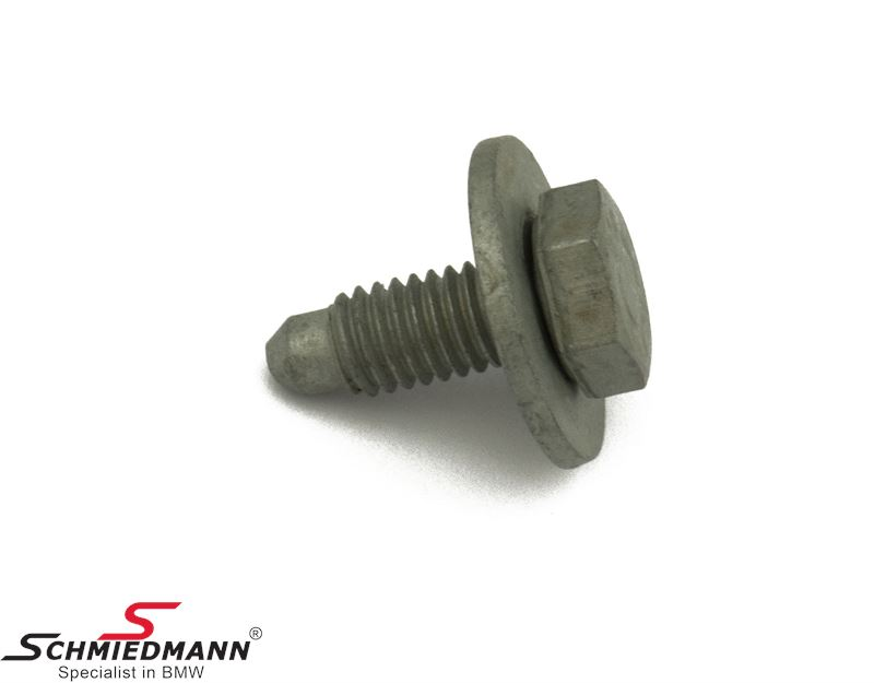 Hex bolt with washer M6X12