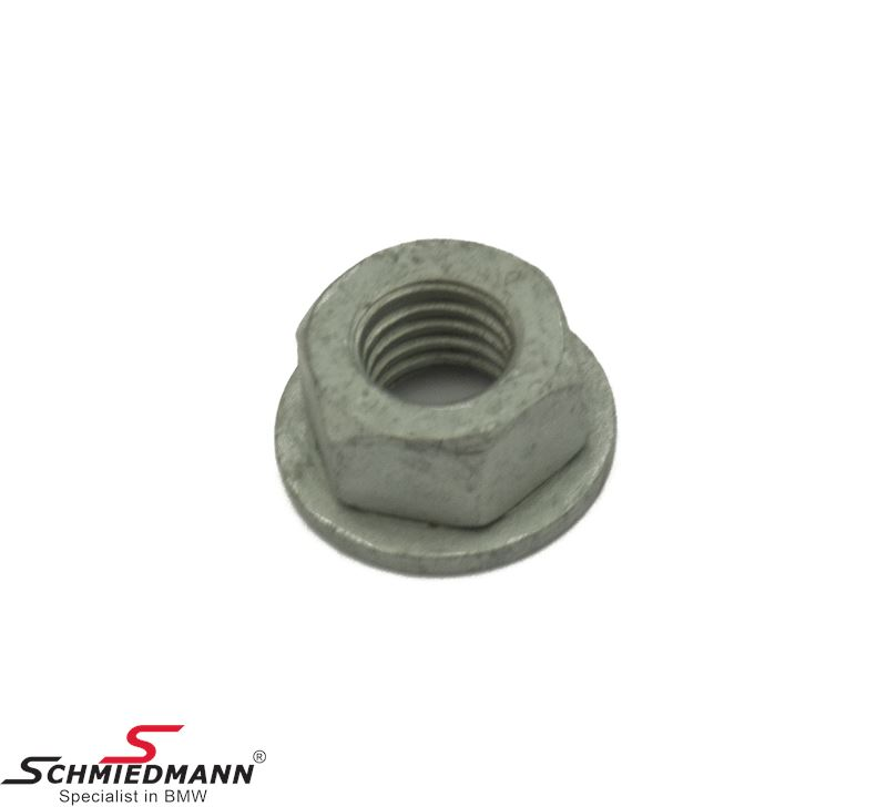 Hex nut with washer M8-ZNS3