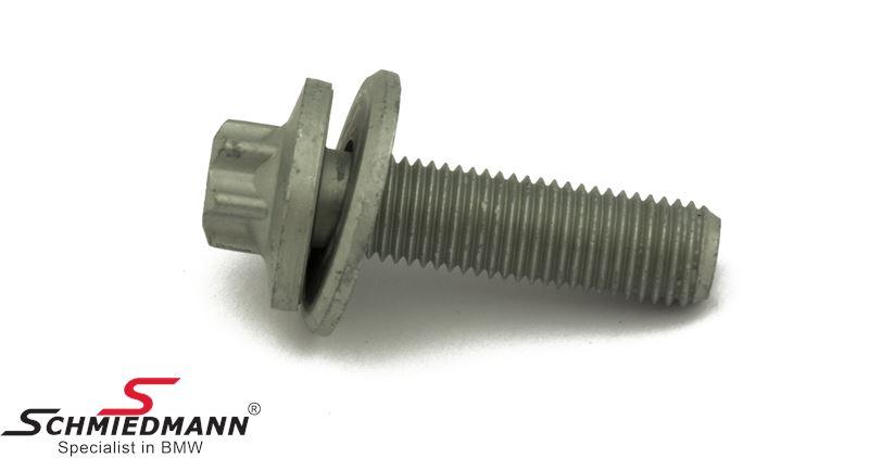 Torx skrue med skive M12X1,5X43  til bremsekaliber