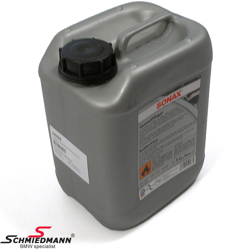 Rubber/plastic care Sonax 5L can
