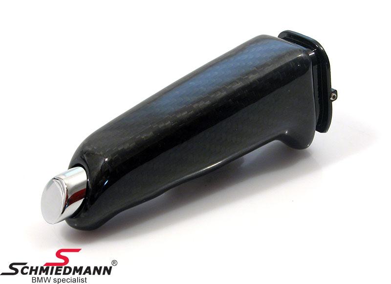 Schmiedmann håndbremsegreb ægte sort carbon