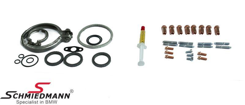 Monterings/paknings-sæt til turbolader