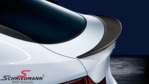Rear Spoiler Lip Bmw M Performance Genuine Carbon