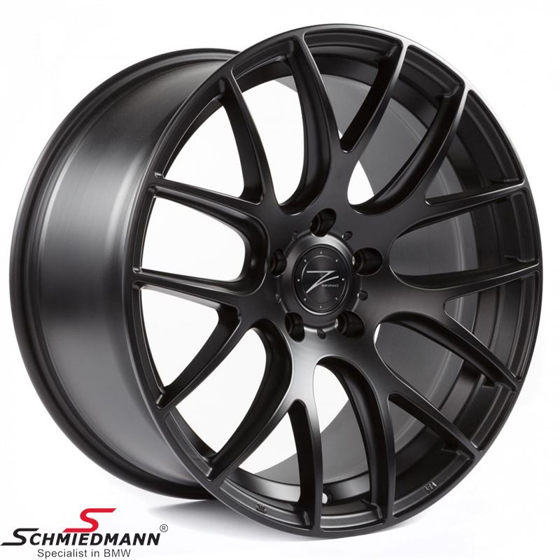 "18"" Z-Performance -ZP.01- concave rim 9x18 ET40, Matte Black (Fits only rear)"