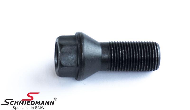 Kolový šroub M14X1.25 černý