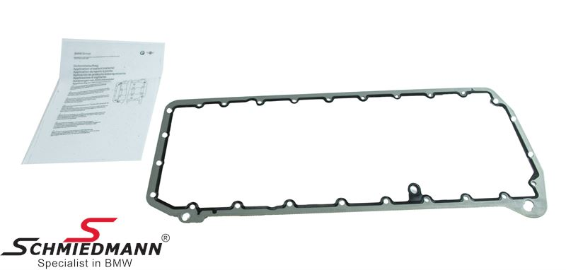 Oil pan gasket (Aluminium screws must also be changed, and must be bought  separately - See details)