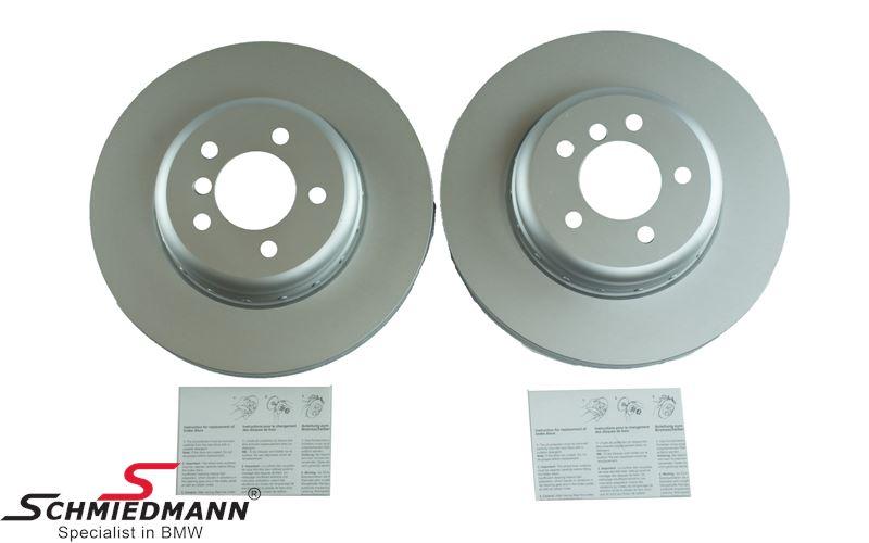 Bremsscheiben vorne 348X30MM - belüftet, Bi-Metal 2 Teilig