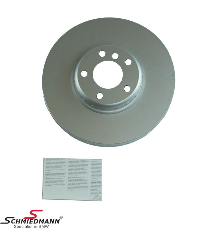 Brake disk R.-side 348x36MM - ventilated, bi-metal