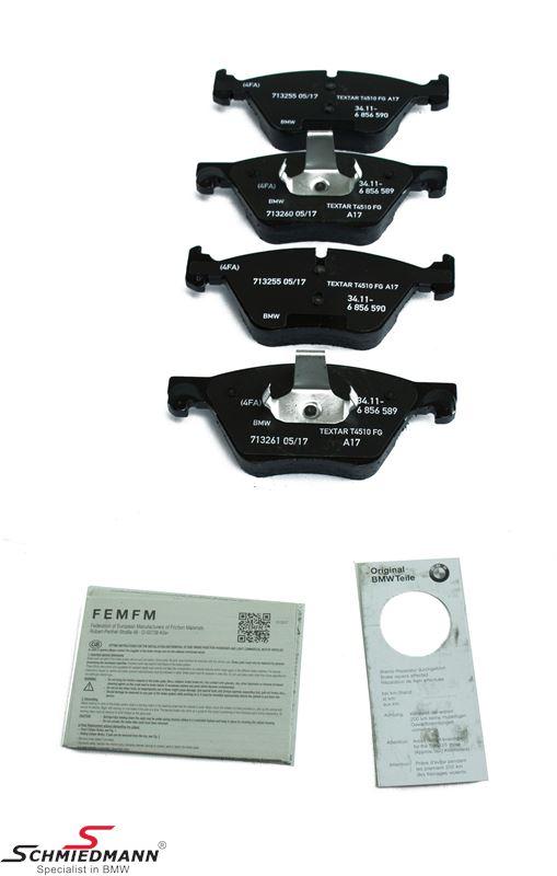 Brake pads front - original BMW