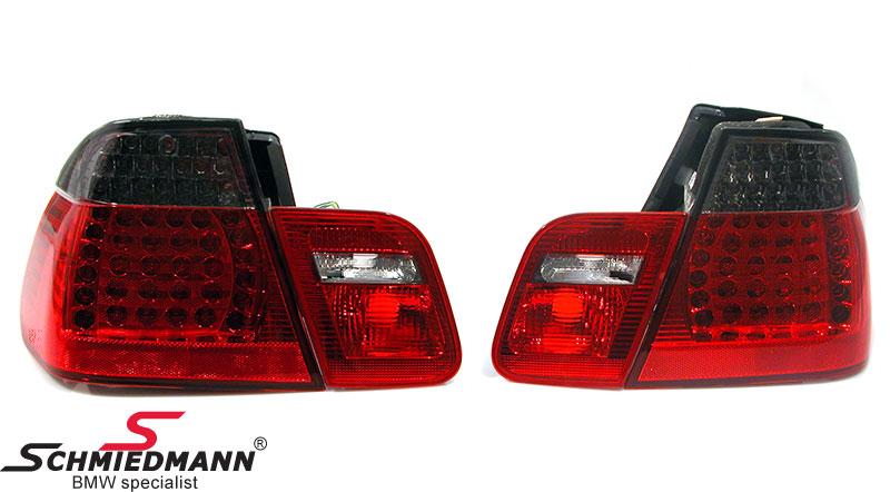Rückleuchten LED rot/schwarz upgrade mit blinker oben