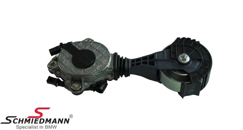 Friction wheel alternator/aircon belt