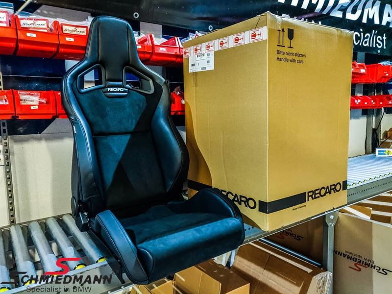 Recaro Cross Sportster CS with seat heating, Dinamica leather right side