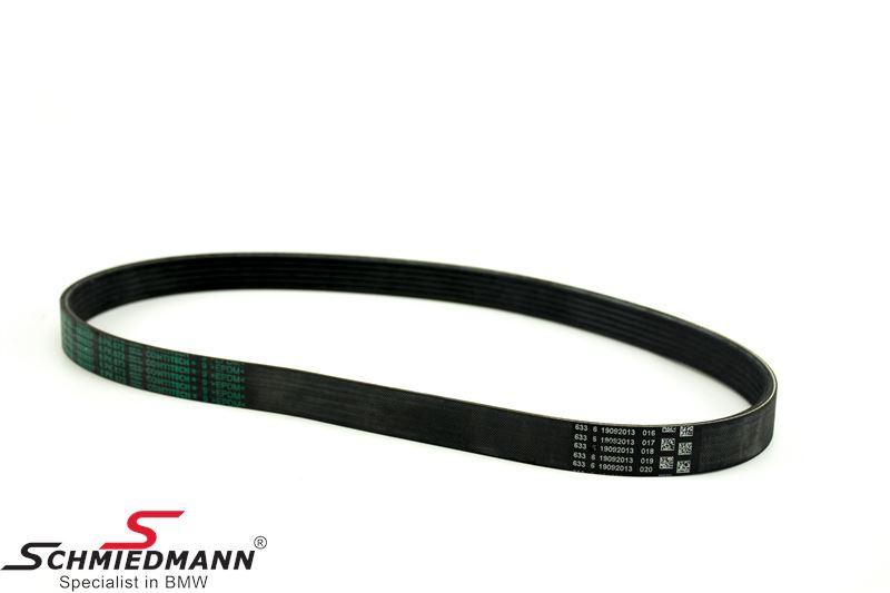 Belt drive waterpump/alternator 6PK X 873