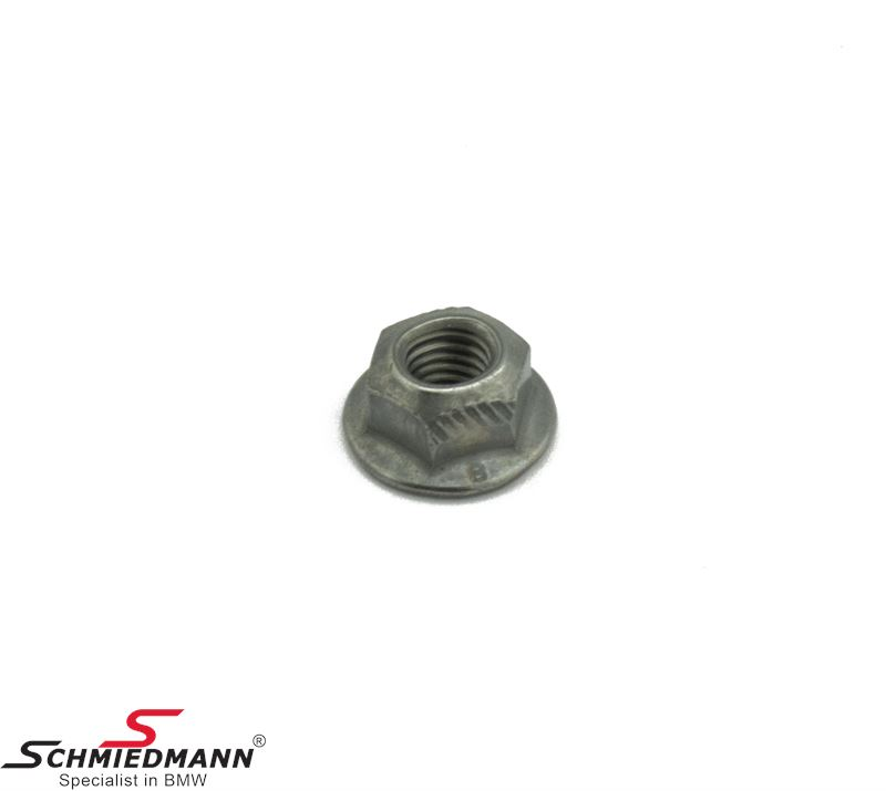 Hex nut self locking M6-8-ZNNIV SI