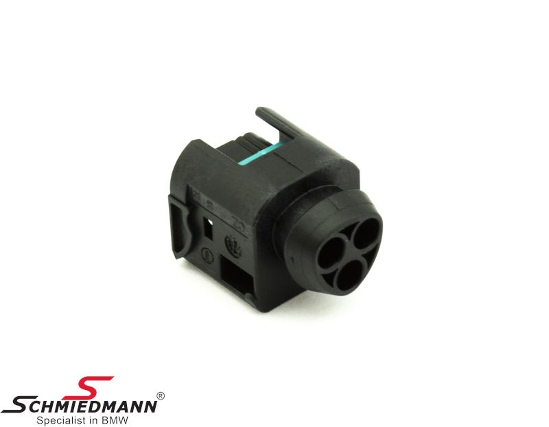 Plug housing 3-pol. for ignition coil