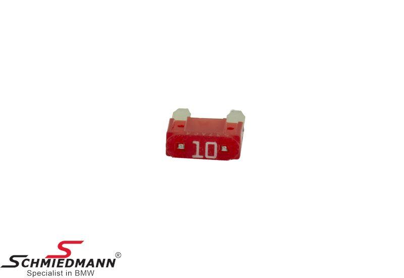 Sikring mini, rød 10A