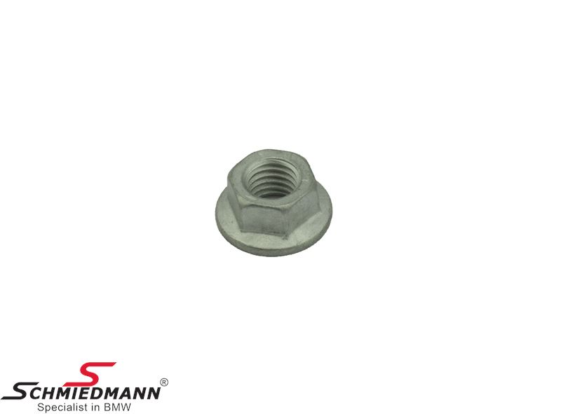 Hex nut with washer M10-8-ZNS