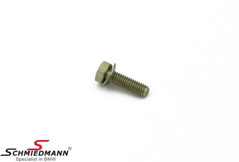 Hex bolt with washer M6X20-Z3