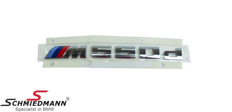 Emblem -M550D-