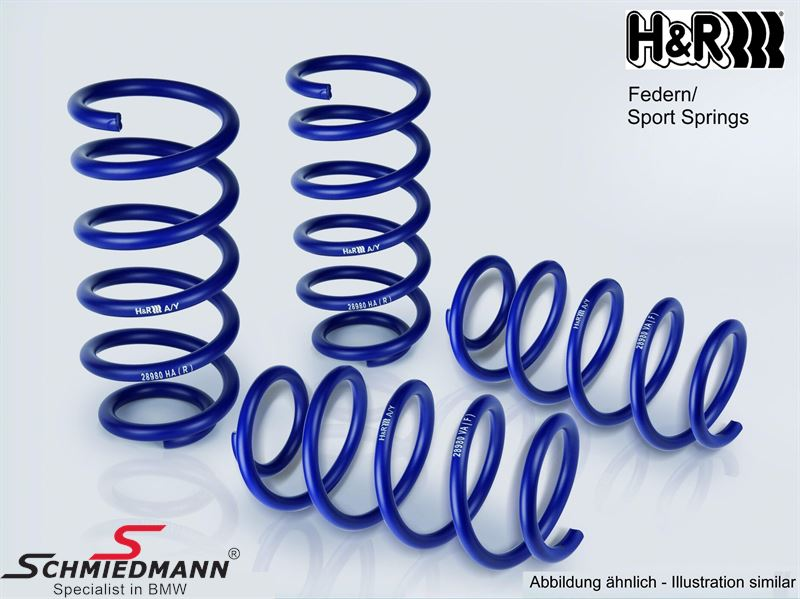 Lowering kit H&R front/rear 30/20MM