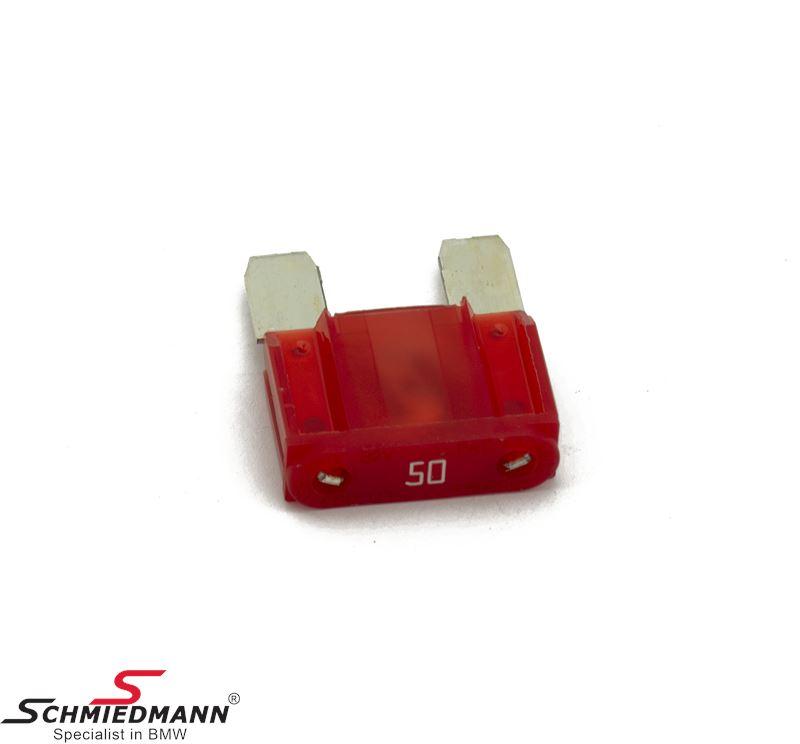 Sikring maxi, rød 50A