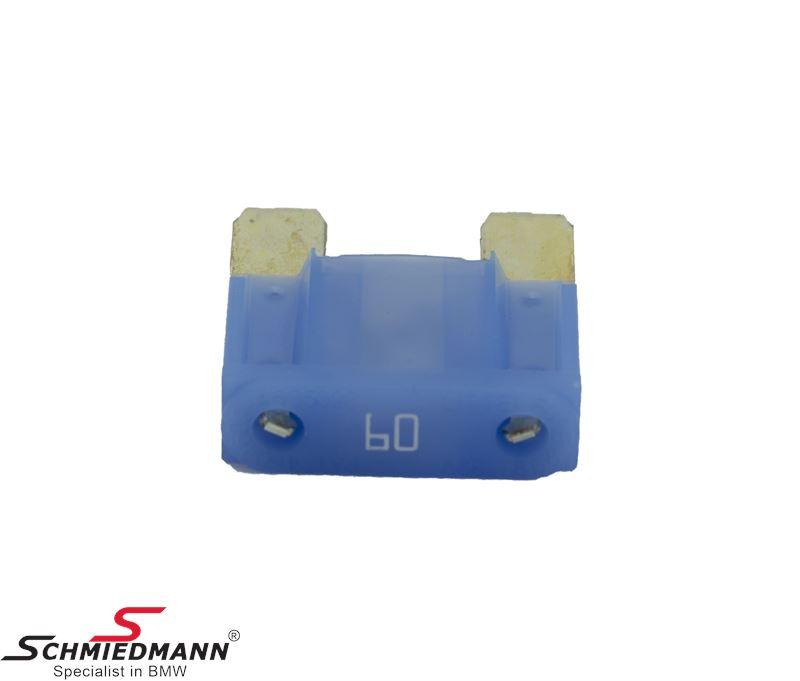 Sikring maxi, blå 60A