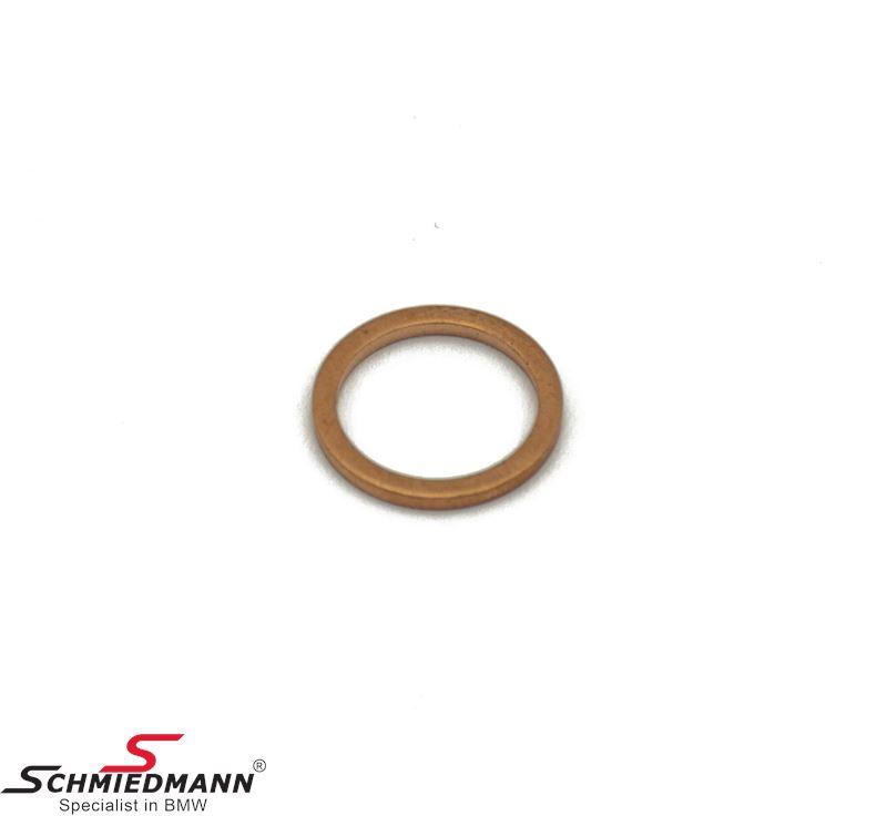 Gasket ring A12X15-CU