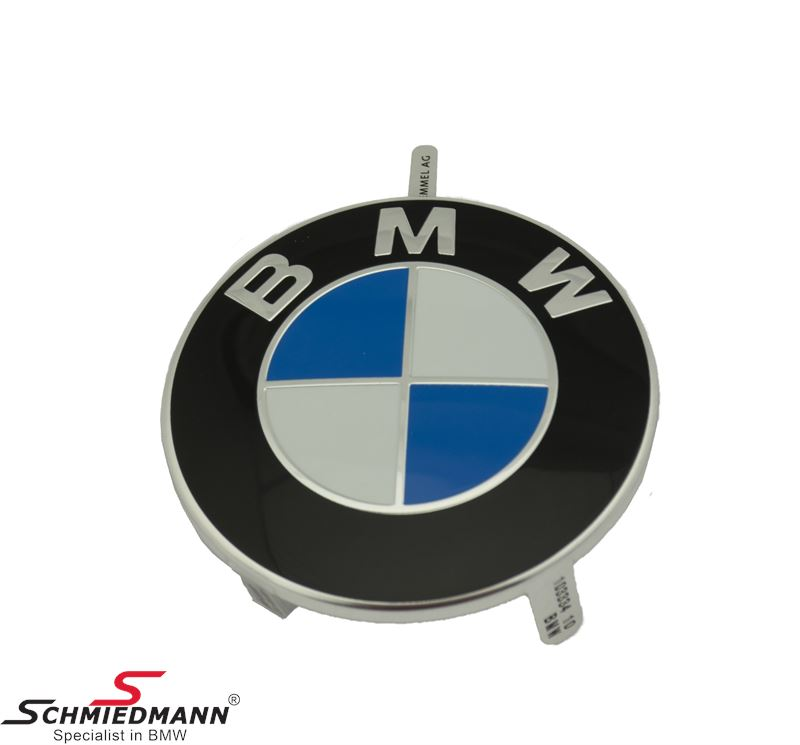 BMW emblem for engine cover