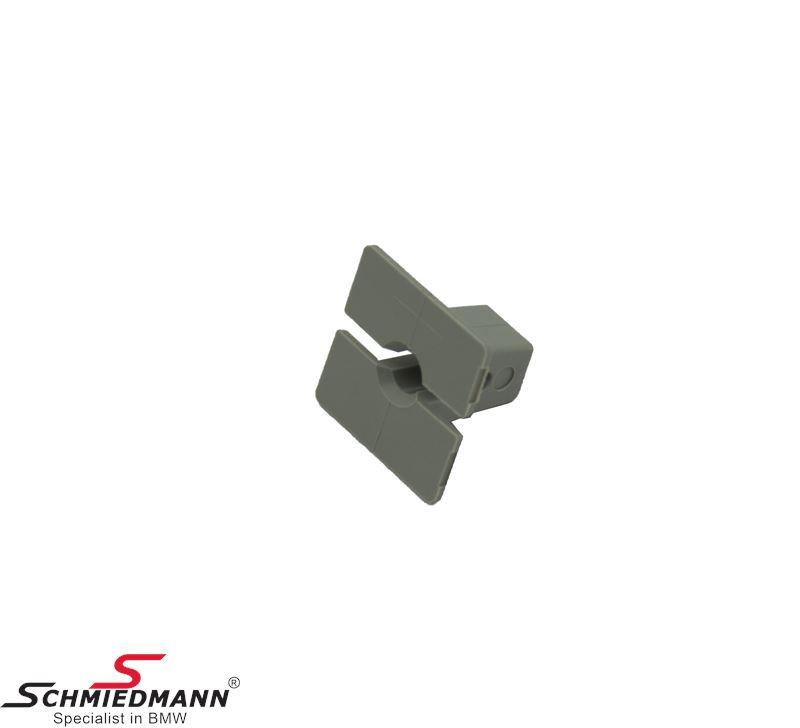 Expanding rivet, grey