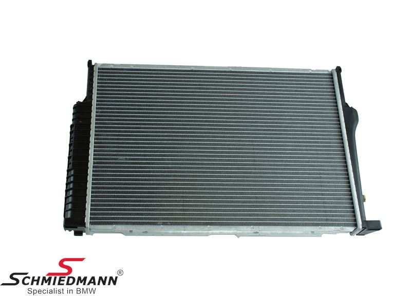 Radiator A=650MM with transmission oil cooler
