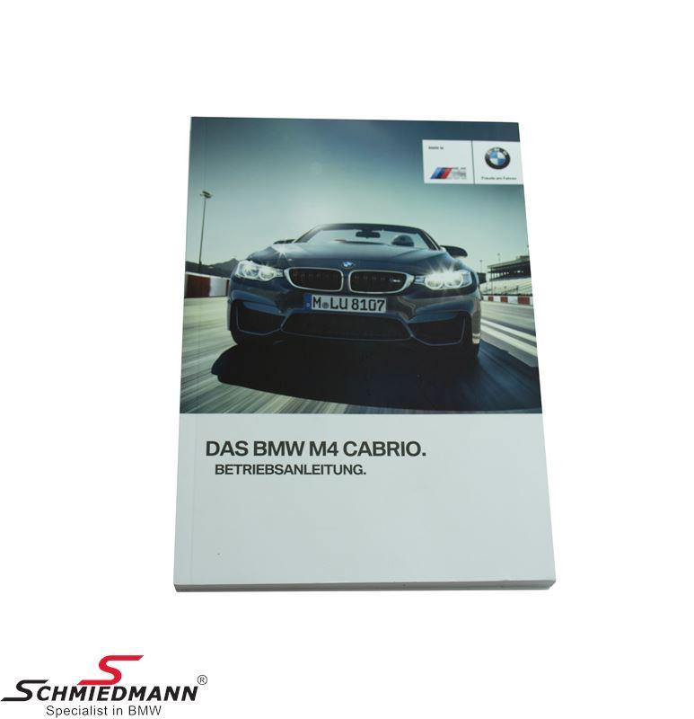 Owner´s handbook German (For models with TV)