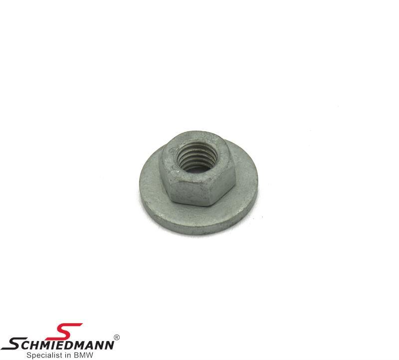 Nut M8 eg. for transmission mount