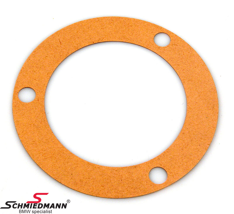 Gasket guide support rear