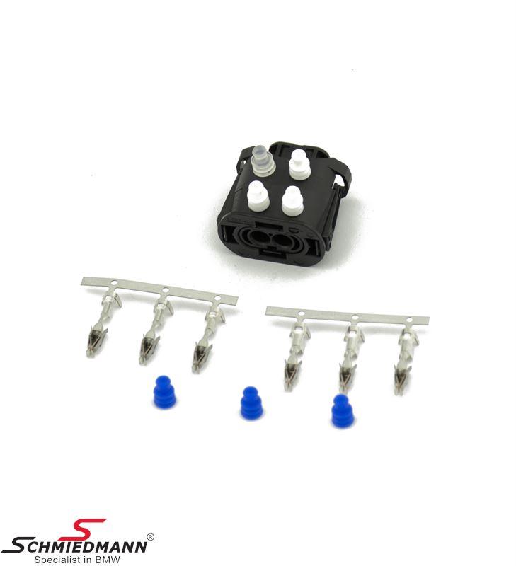 Plug housing rep.kit 2-pin