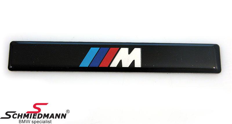 "Emblem ""BMW M-Technic"" til M-Technic stødlister"