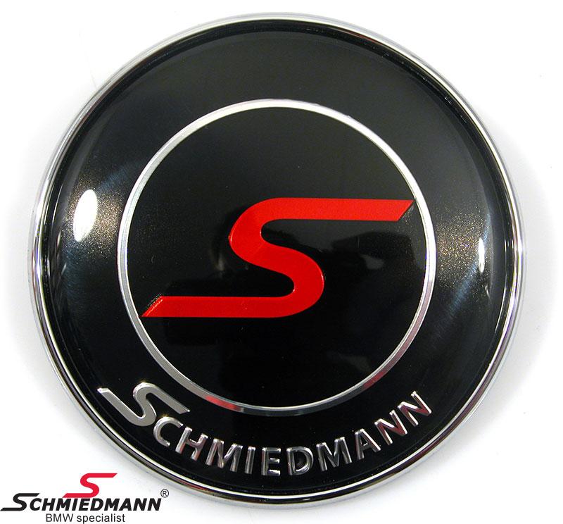 Schmiedmann emblem til bagklap 73MM