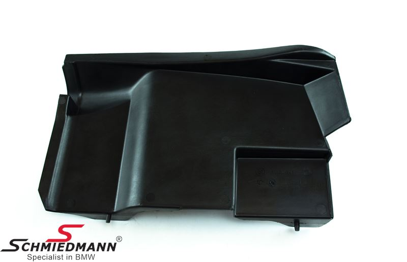 Trim panel for engine wiring harness