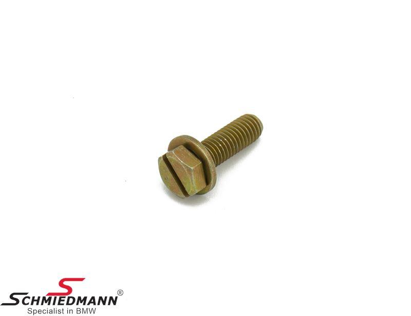 Hex screw with washer M8X26-Z1-ZNS3