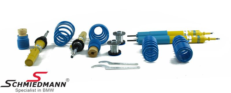 Coilover kit -BILSTEIN B14- hight adjustable front+rear 30-50MM