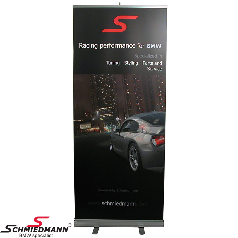 Schmiedmann roll-up 85X200CM -Schmiedmann racing performance-