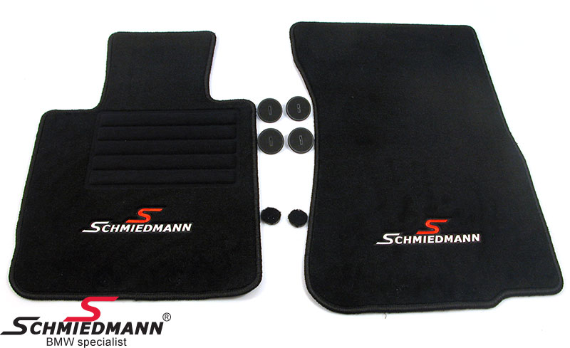 Floormats original Schmiedmann -Sport Edition- black
