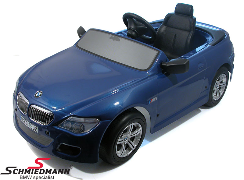 BMW Racer M6 convertible with pedal drive and metallic paintwork