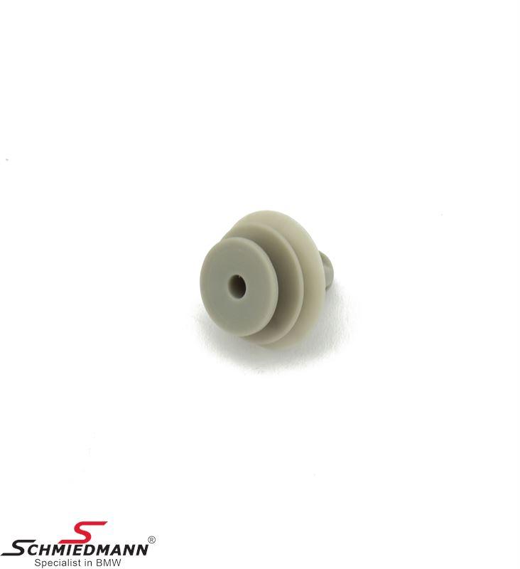 Clamp for door upholstery, grey