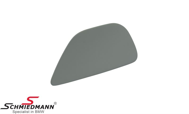 Cover L.side for telescopic nozzle for headlight cleaning system primed