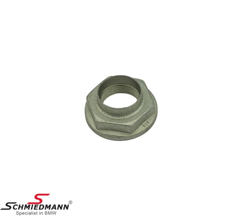 Nut for front wheel bearing