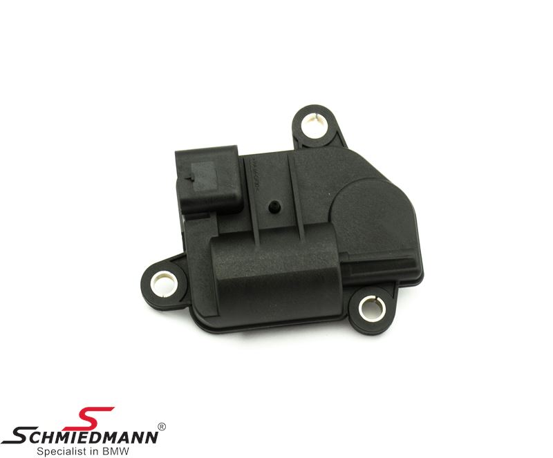 Actuator for rear muffler exhaust flap control
