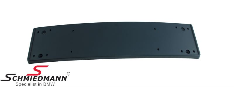 License plate holder M-Tech. front bumper