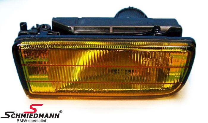 Tåkelykt gul H1 V.-side